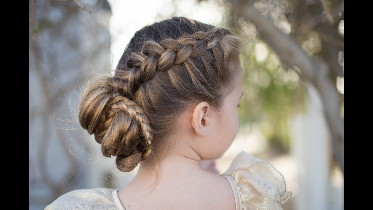 Featured Photo of Updo With Forward Braided Bun
