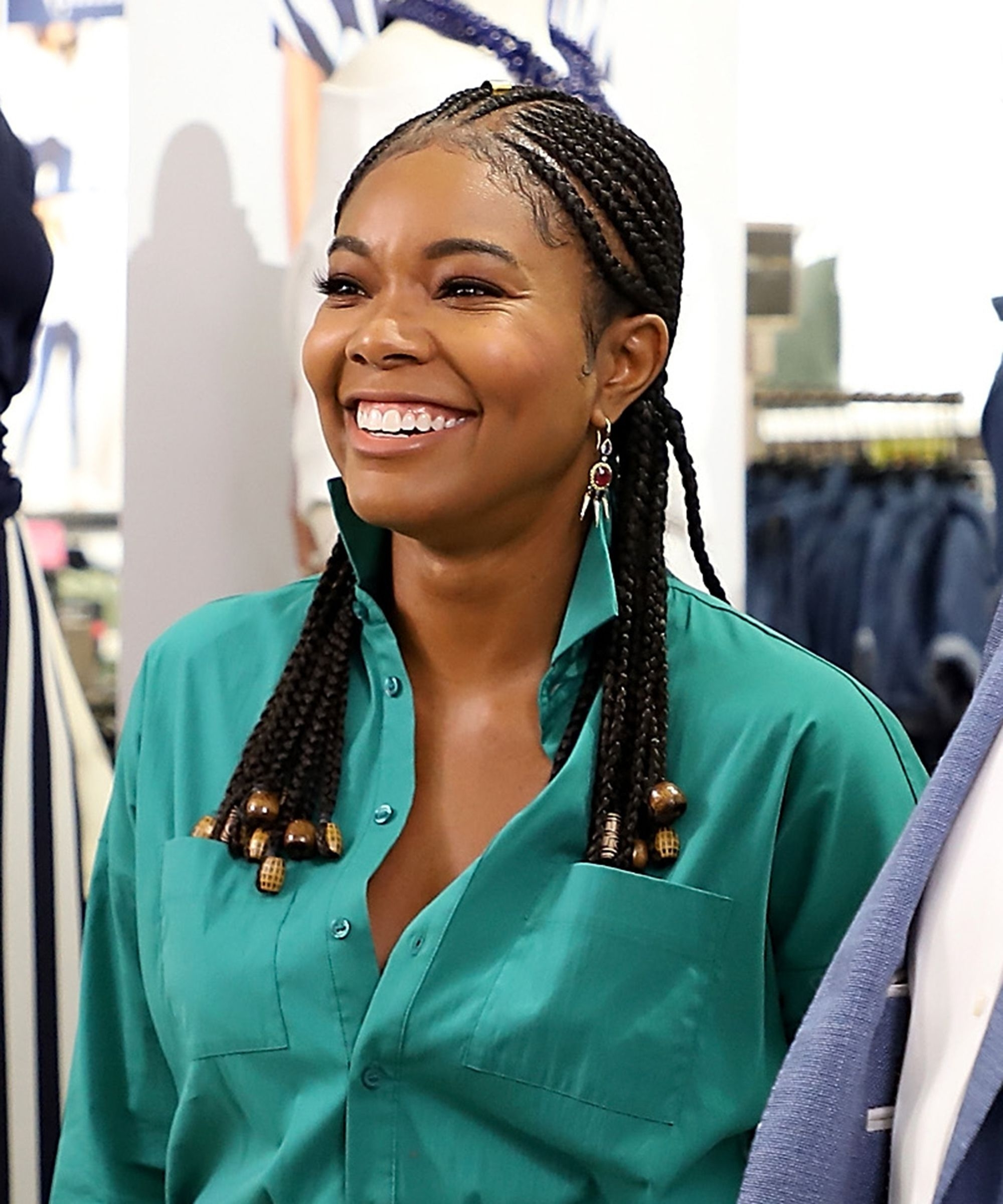 Cute Ways To Wear Beads On Cornrows, Braids, And Locs In Latest Cornrows Hairstyles With Beads (View 6 of 15)