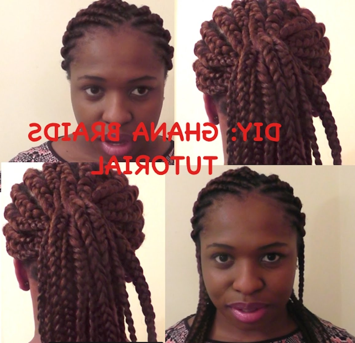 Diy: Ghana Braids (View 4 of 15)