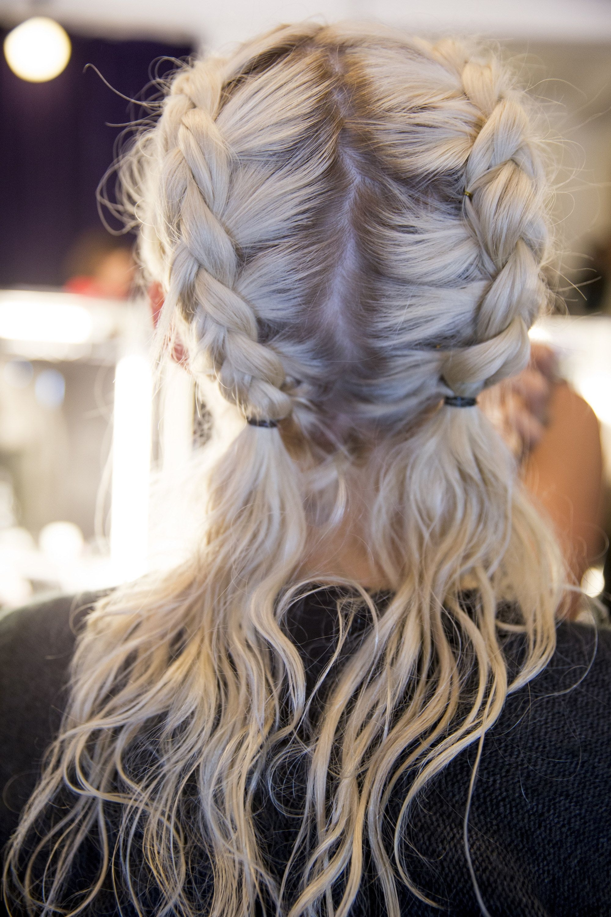 Double French Plaits (View 14 of 15)