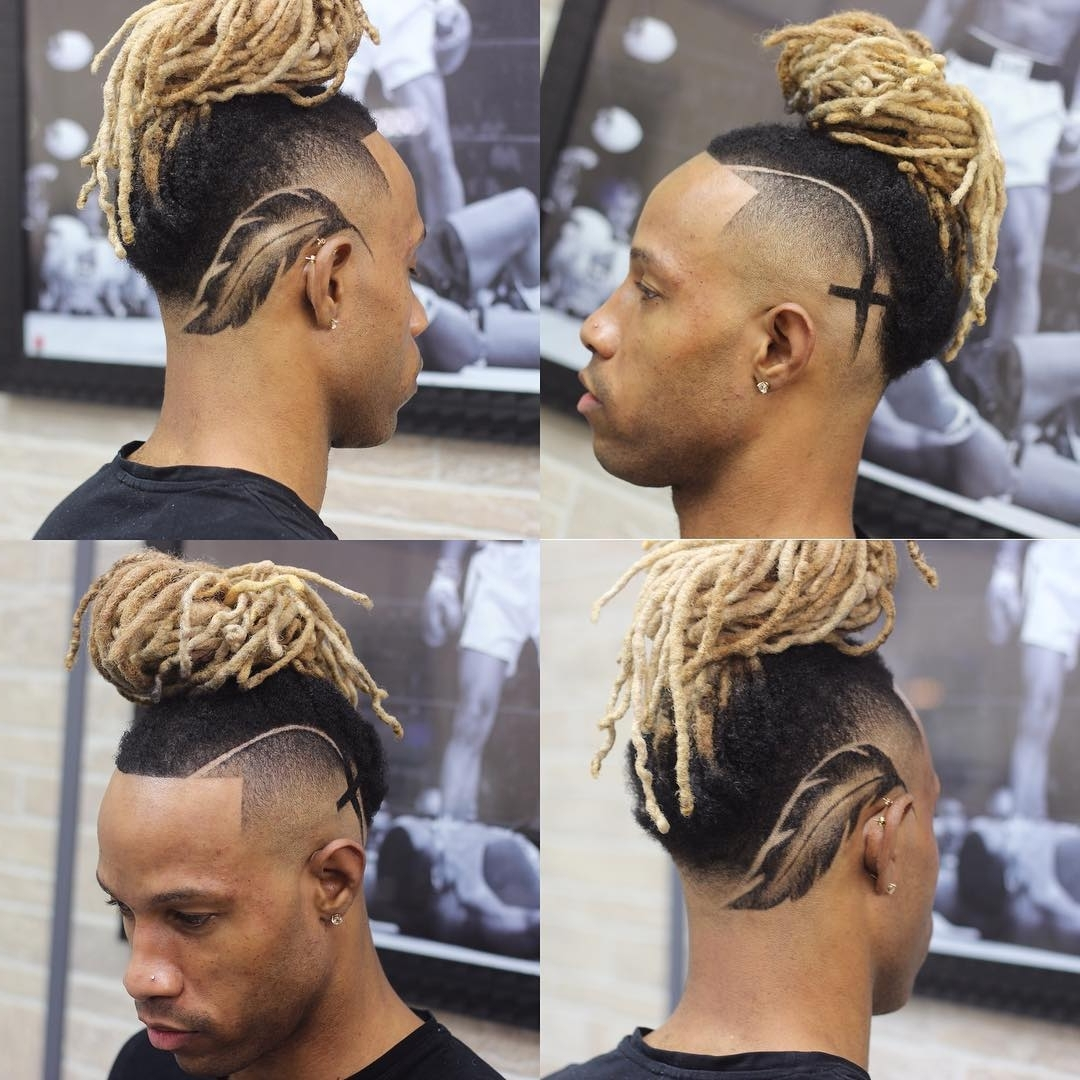 Dreadlock Styles For Men Within Famous Double Bun Mohawk With Undercuts (View 3 of 15)