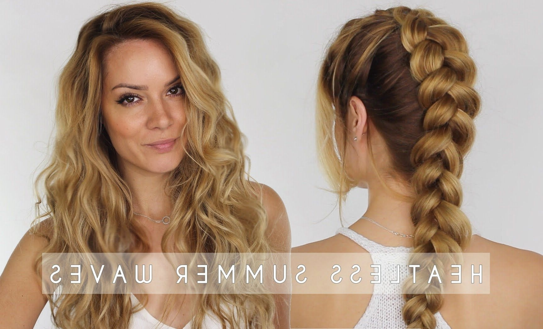 Dutch Braid Hair Tutorial Throughout Popular Braids And Waves For Any Occasion (View 5 of 15)
