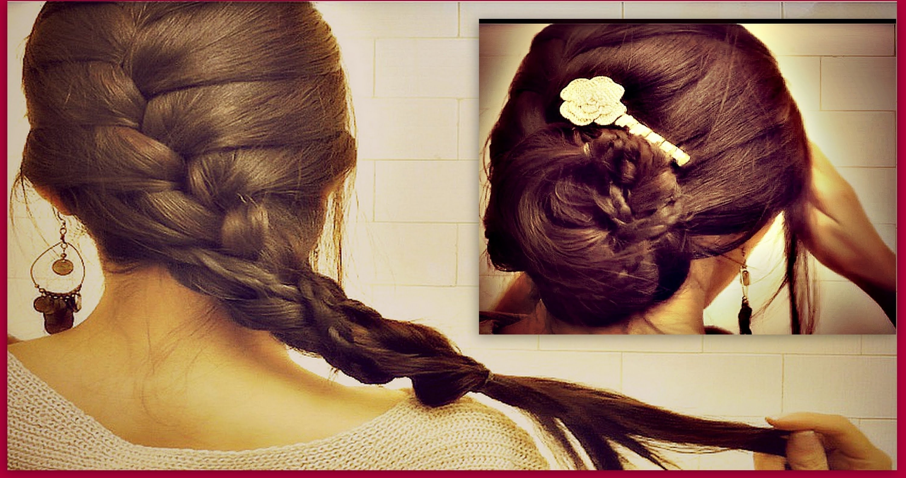 ☆ How To: French Braid Your Own Hair Tutorial (View 1 of 15)