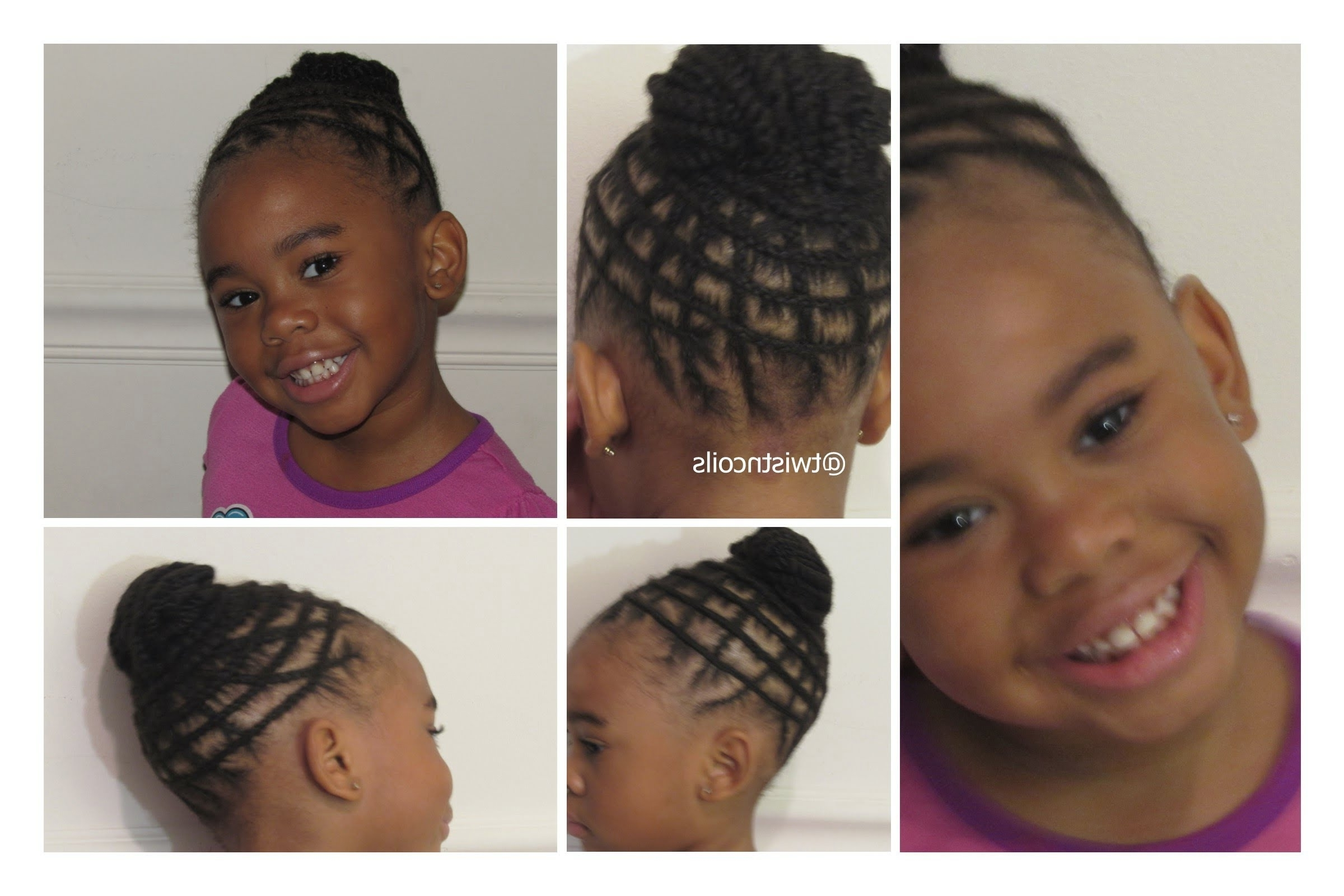 ♡ Tnc – 19 ♡ Natural Braid Hairstyle For Kids – Youtube In Most Recently Released Zimbabwean Braided Hairstyles (View 2 of 15)