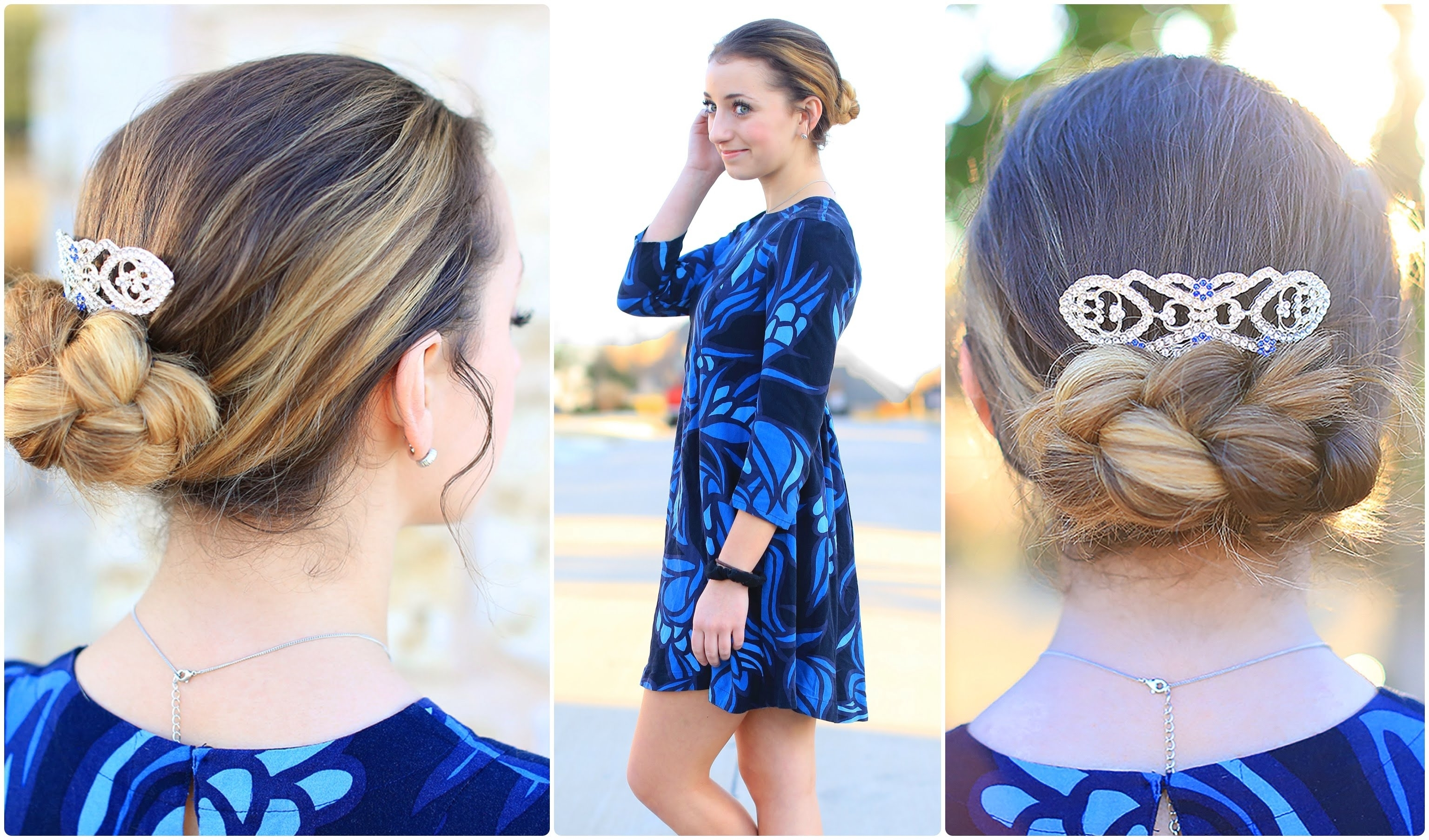 Easy Flipped Braid Updo (Gallery 1 of 15)
