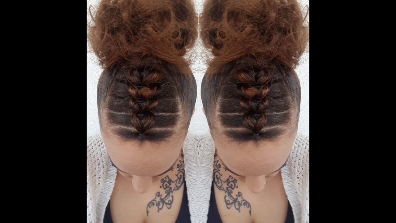 Elastic Cornrows Hairstyle (View 10 of 15)