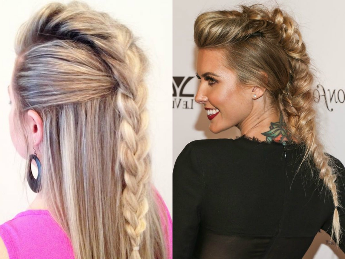 Expressive Women Braided Mohawk Hairstyles (View 8 of 15)
