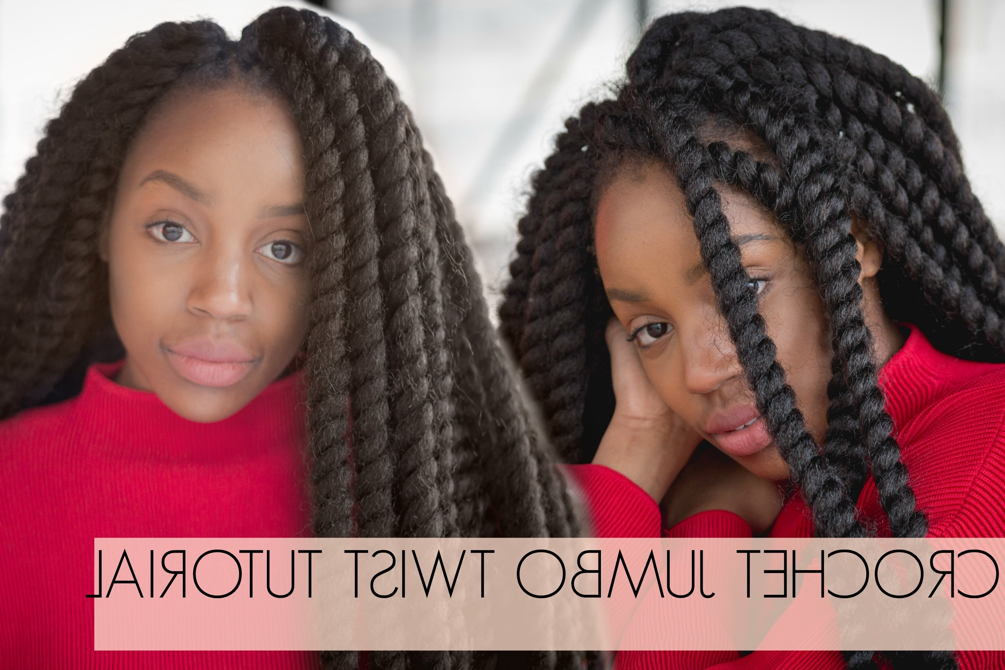 Famous Cute Jumbo Twist Braids Intended For Super Quick Braids Crochet Jumbo Twists (View 4 of 15)