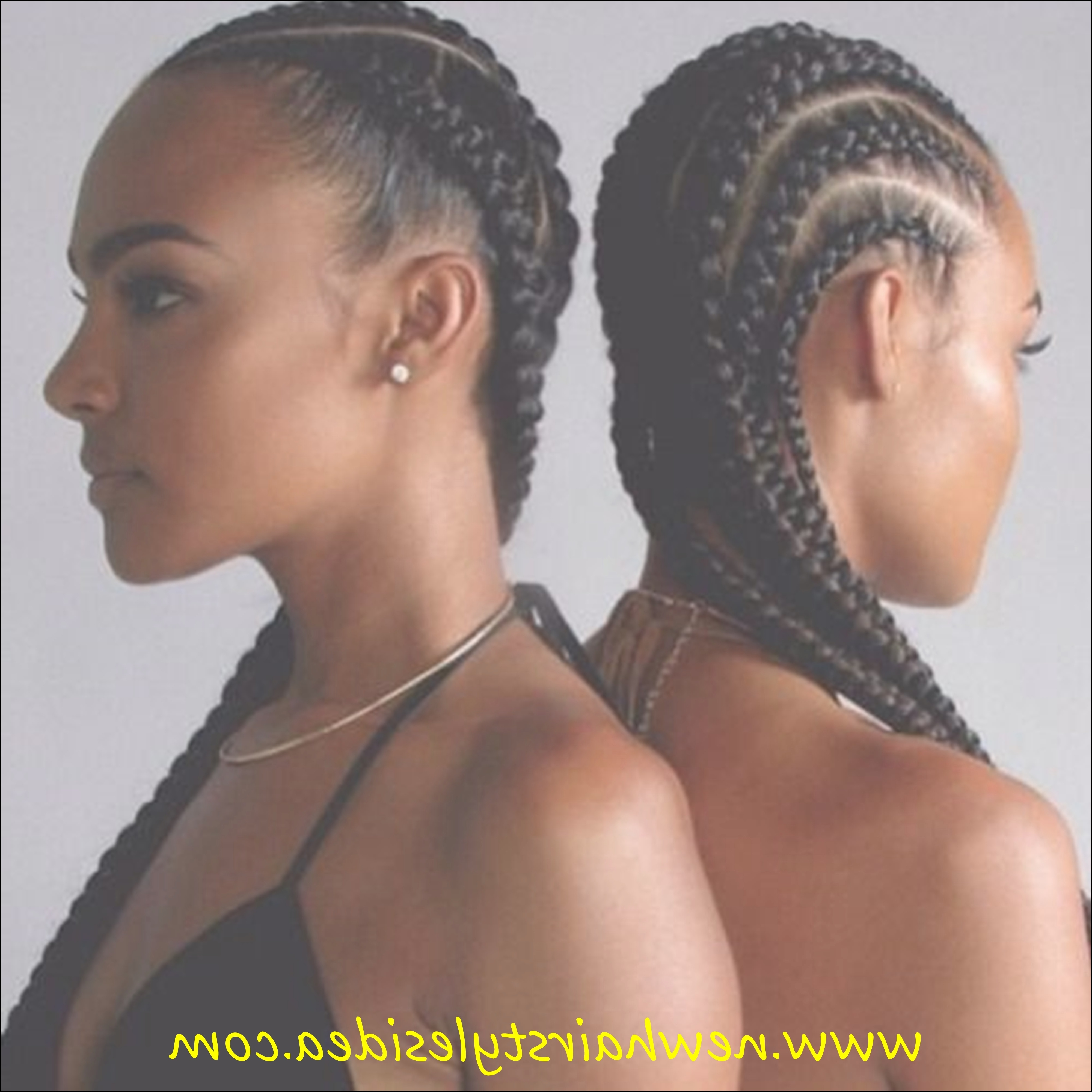 Famous Modern Cornrows Hairstyles Inside Cornrows Hairstyles For Black Women (View 4 of 15)