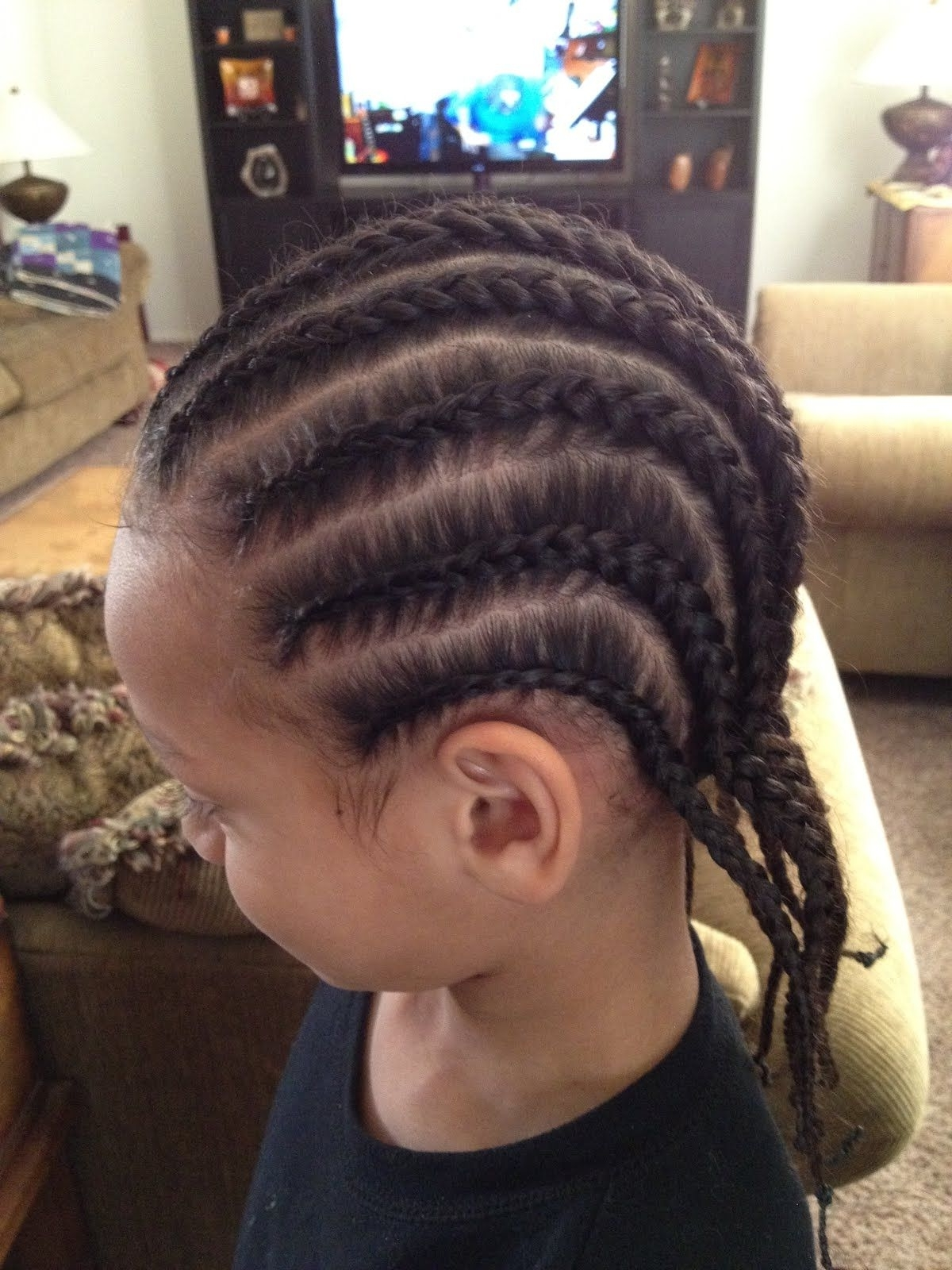 Fashionable Cornrows Hairstyles For Guys Regarding Boys Haircuts: 14 Cool Hairstyles For Boys With Short Or Long Hair (View 4 of 15)