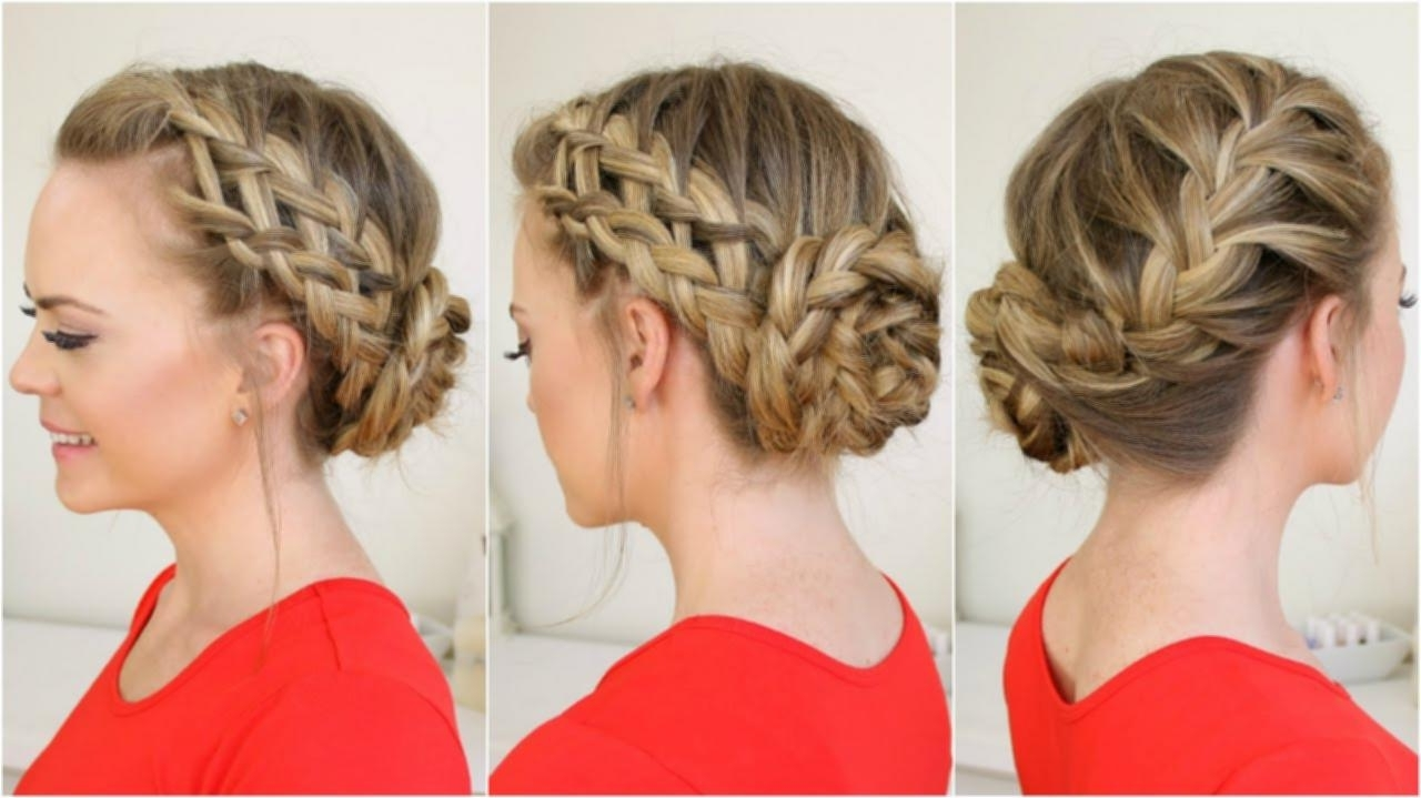 Fashionable French Braids Into Bun For French Braid Into Side Bun – Hairstyle (View 6 of 15)