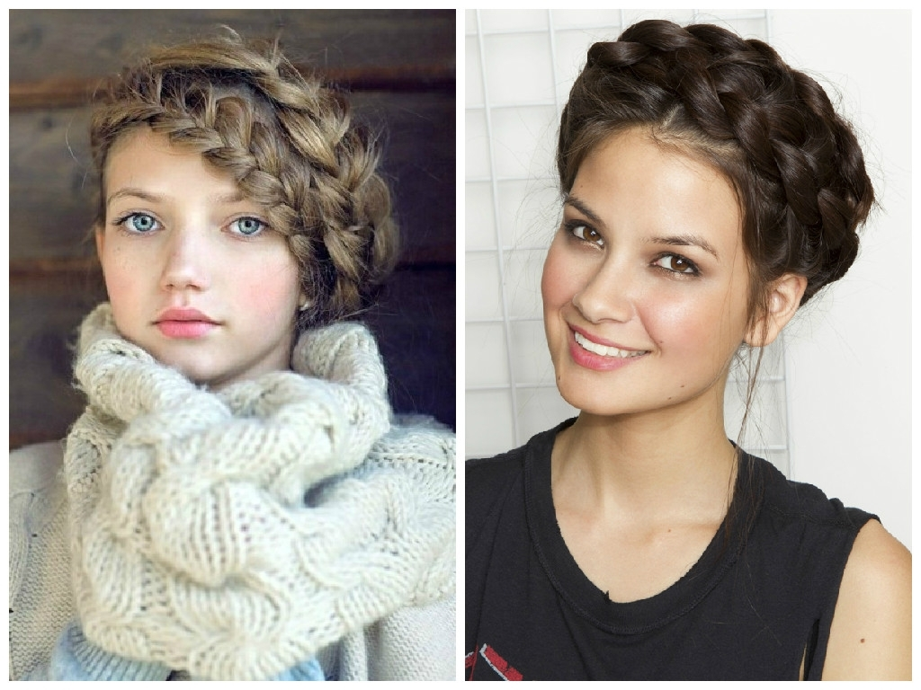Fashionable Messy Double Braid Hairstyles Throughout The Best Crown Braid Hairstyle Ideas – Hair World Magazine (View 10 of 15)
