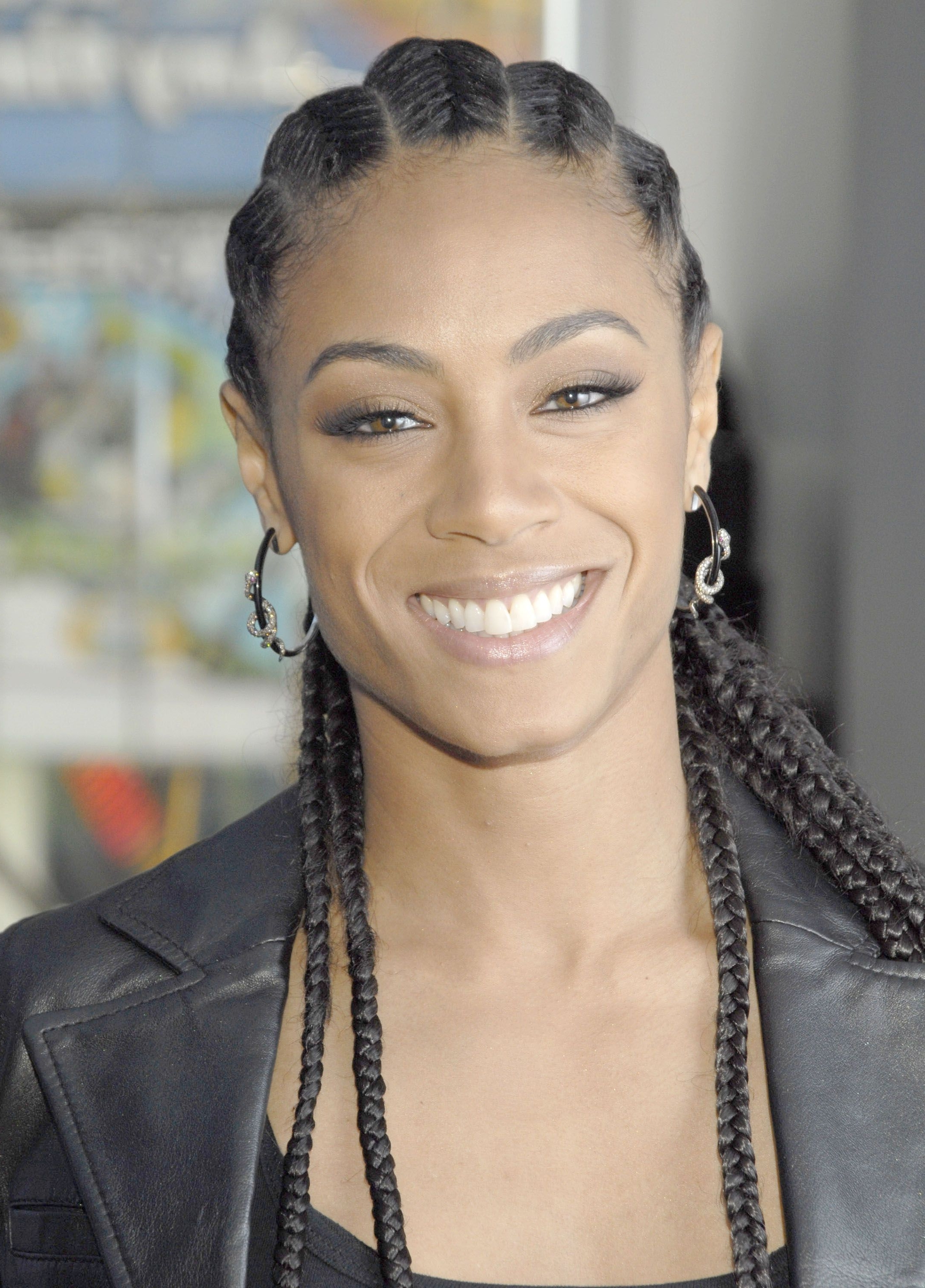 Fashionable Modern Cornrows Hairstyles Throughout 25+ Easy Natural Hairstyles For Black Women – Ideas For Short (View 14 of 15)