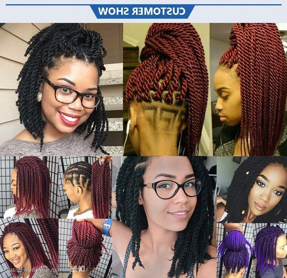 Fashionable Twist From Box Braids Hairstyles Inside 2018 Ombre Senegalese Twist Hair Box Braids 20 Strands (View 5 of 15)