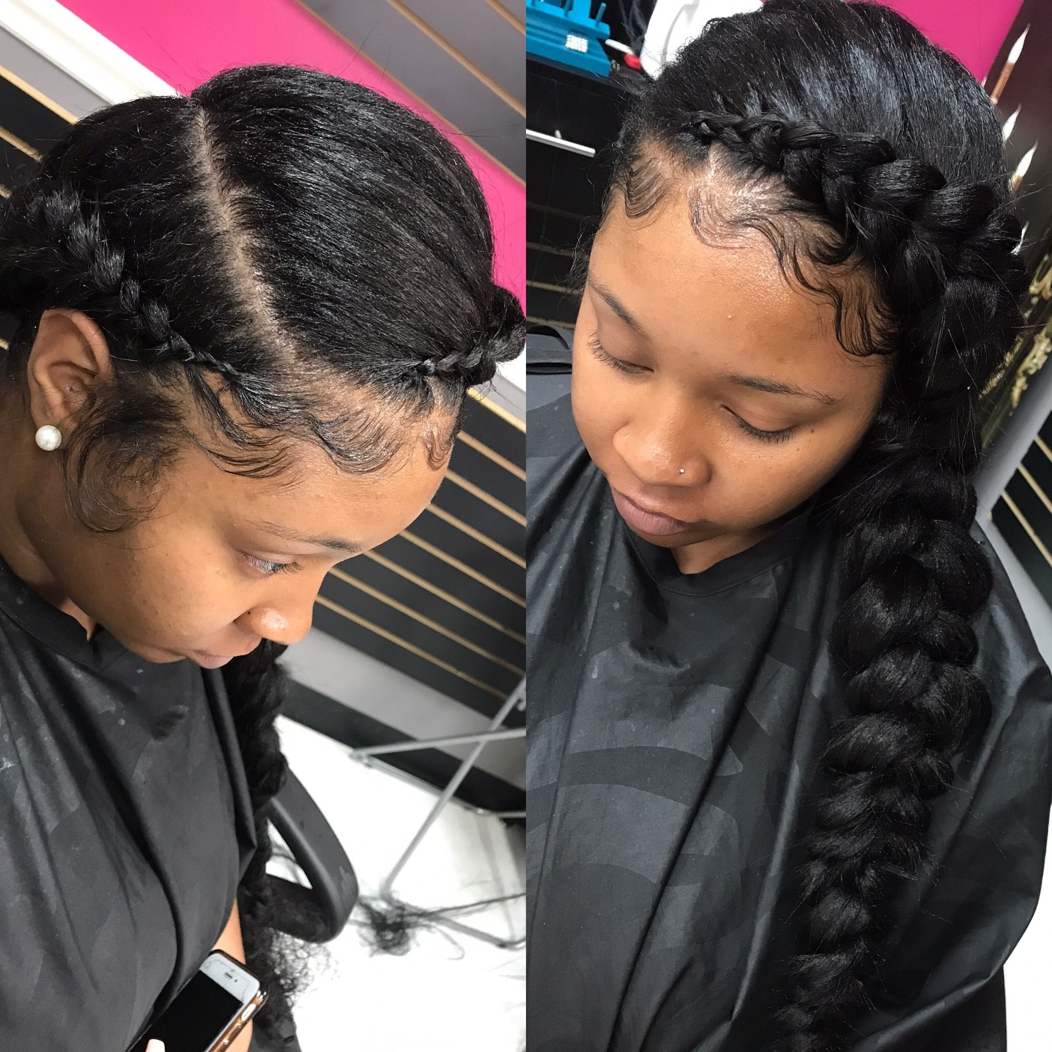Fashionable Wigs Braided Hairstyles With Regard To Braided Hairstyles For Little Black Girls Under Relaxed Hair Wigs (View 12 of 15)