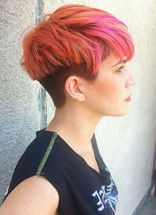 Fashionisers Intended For Famous Tousled Pixie With Undercut (View 6 of 15)