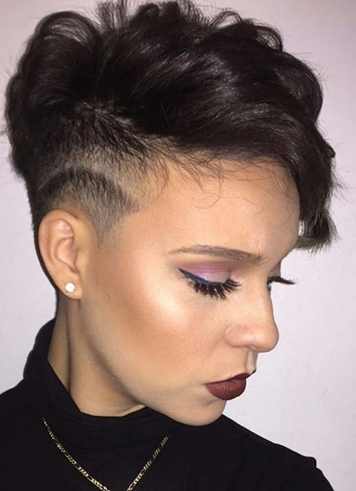 Fashionisers With Newest Tousled Pixie With Undercut (View 7 of 15)