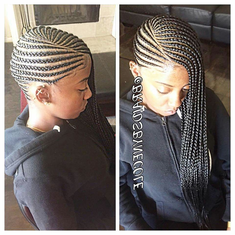 Favorite African American Side Cornrows Hairstyles In She Used Flat Twists To Create Fabulous Summer Curls On Short (View 5 of 15)