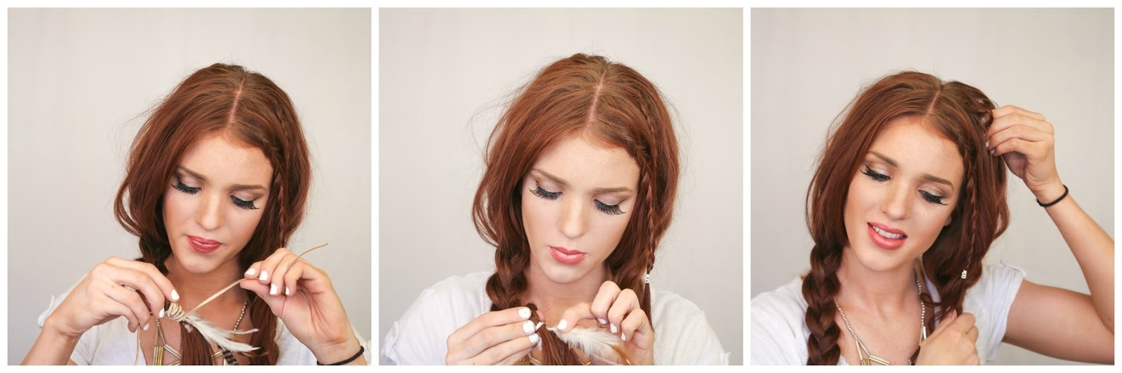 Favorite Bohemian Side Braid Hairstyles With Regard To The Freckled Fox: Festival Hair Week: Basic Boho Braids + A Noonday (View 3 of 15)