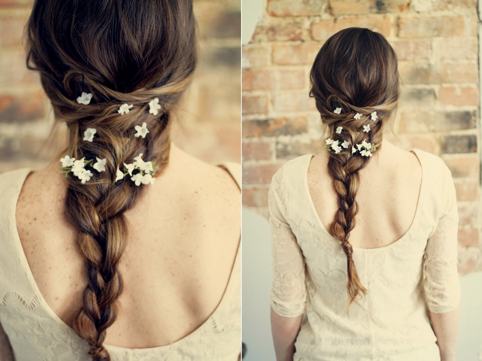 Favorite Braids And Flowers Hairstyles In Summer Nights/floral Hair Tutorial – More Hairstyles (View 9 of 15)