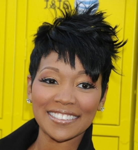 Favorite Choppy Pixie Fade Haircuts Intended For Pixie Cut Hairstyles – Haircuts – Hairdos – Careforhair.co (View 11 of 15)