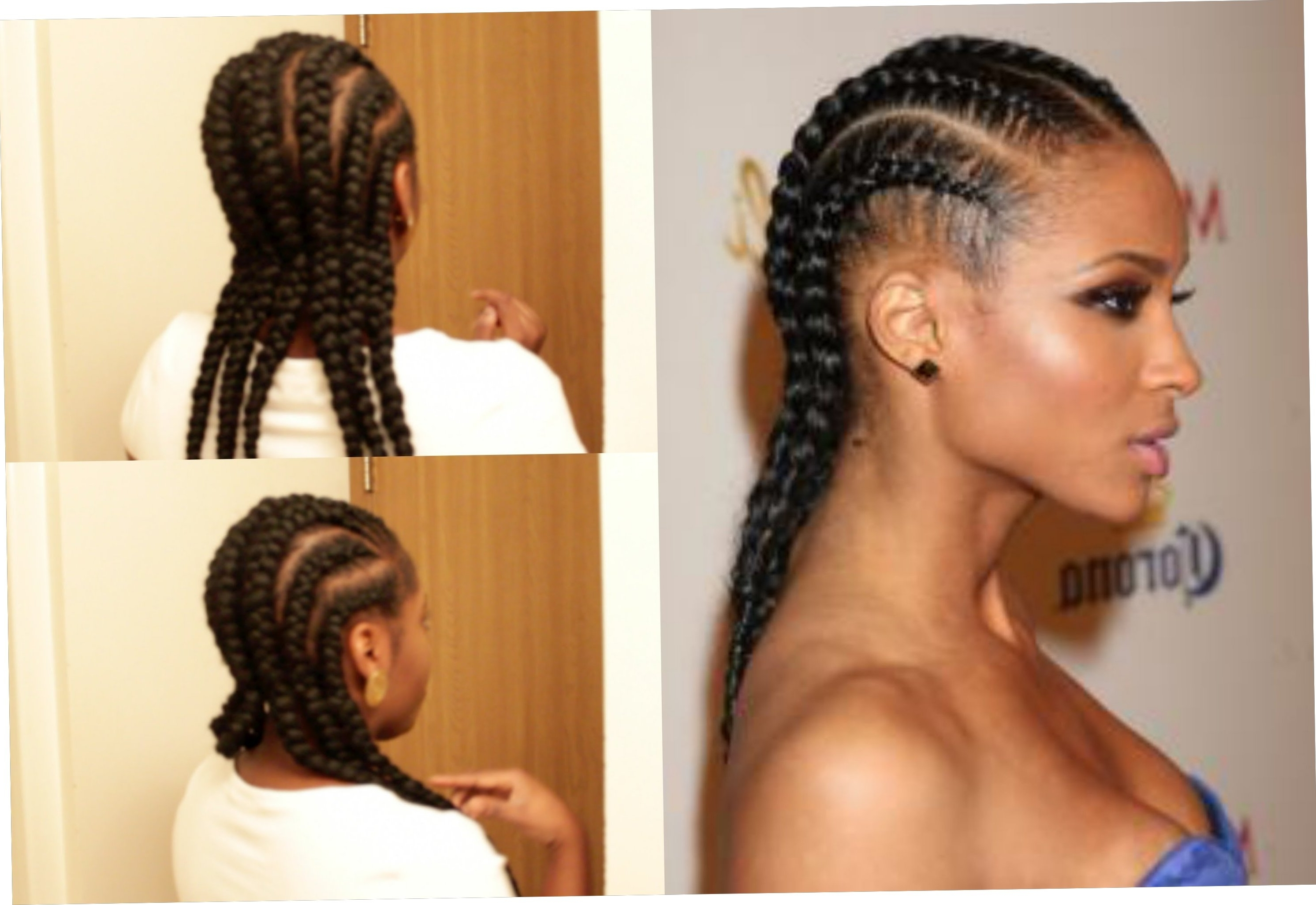 Favorite Cornrows Hairstyles To The Back For 23+ New Straight Back Cornrows Hairstyles 2018 – Straightuphairstyle (View 9 of 15)