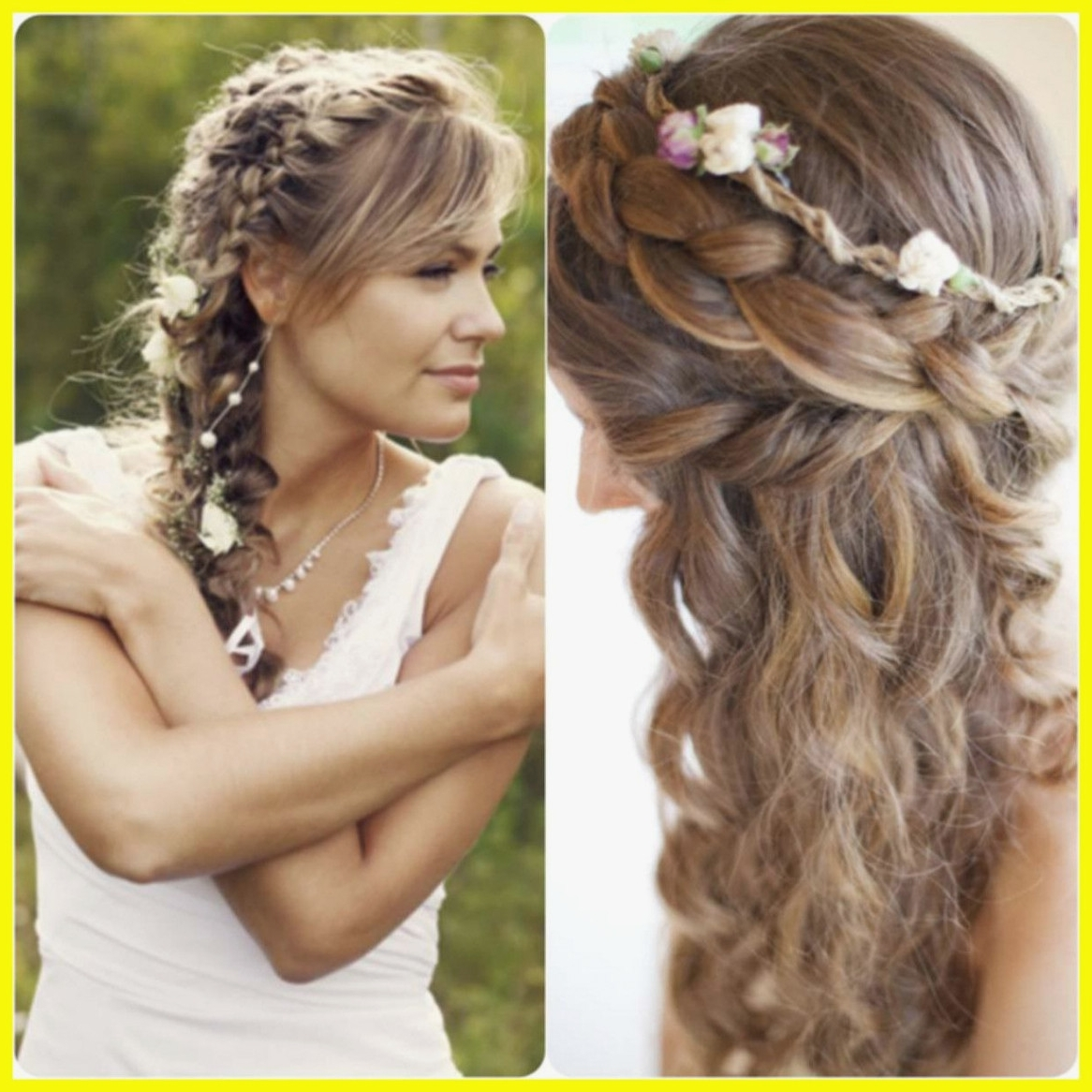 Favorite Side Braid Hairstyles For Medium Hair With Inspiring Unique Hairstyles For Medium Hair Curly Side Braid Picture (View 7 of 15)