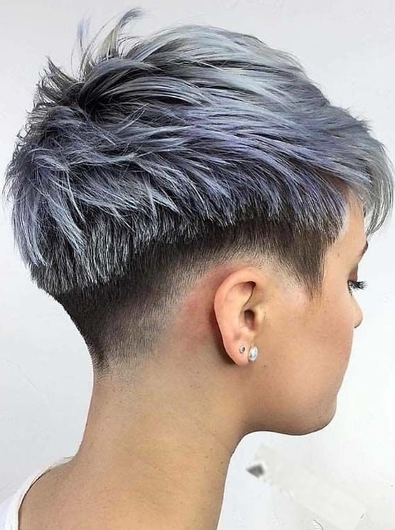 Favorite Tousled Pixie With Undercut Pertaining To Top 30 Undercut Short Pixie Haircuts For  (View 10 of 15)
