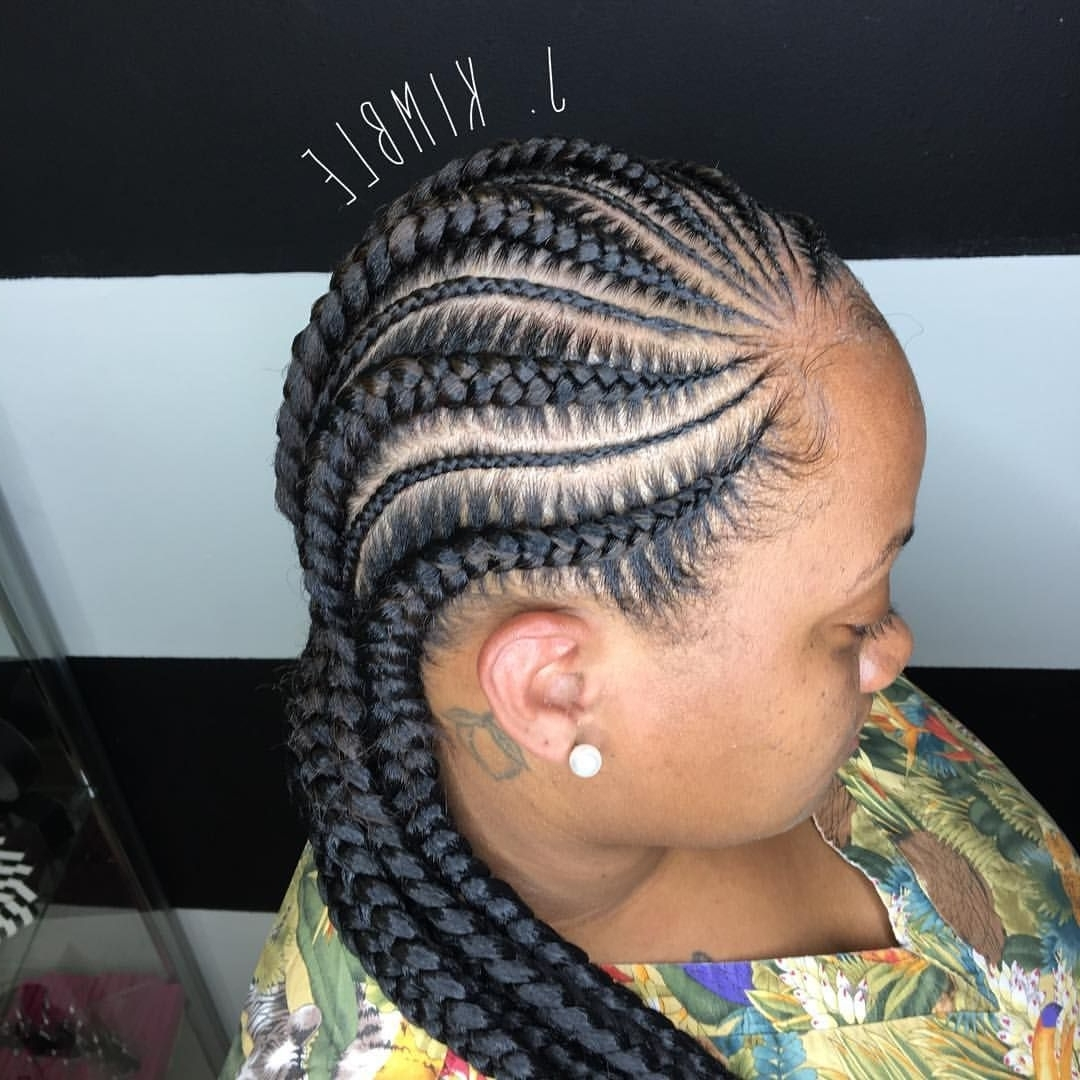 Feed In Cornrows (View 6 of 15)