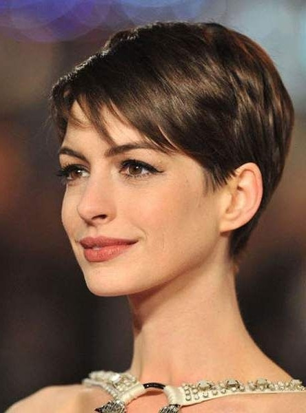 Fine Short Hairstyles Within Widely Used Soft Pixie Bob For Fine Hair (View 3 of 15)