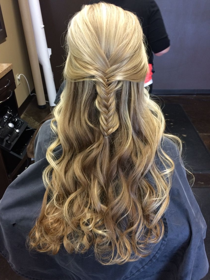 Fishtail Braid And Waves For That Special Occasion (View 3 of 15)
