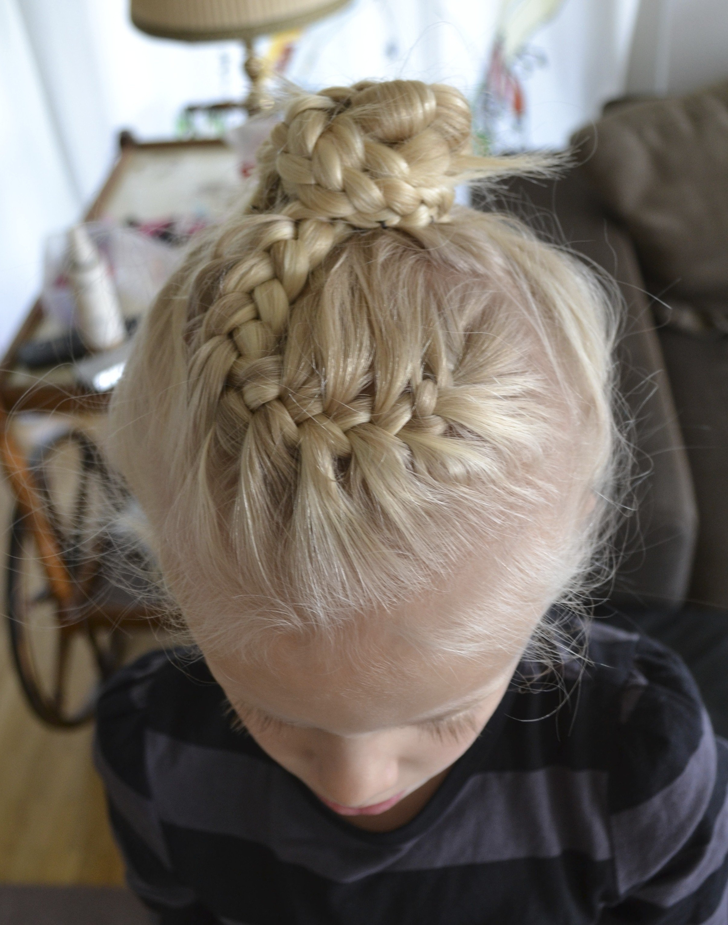French Braid Bun (View 4 of 15)
