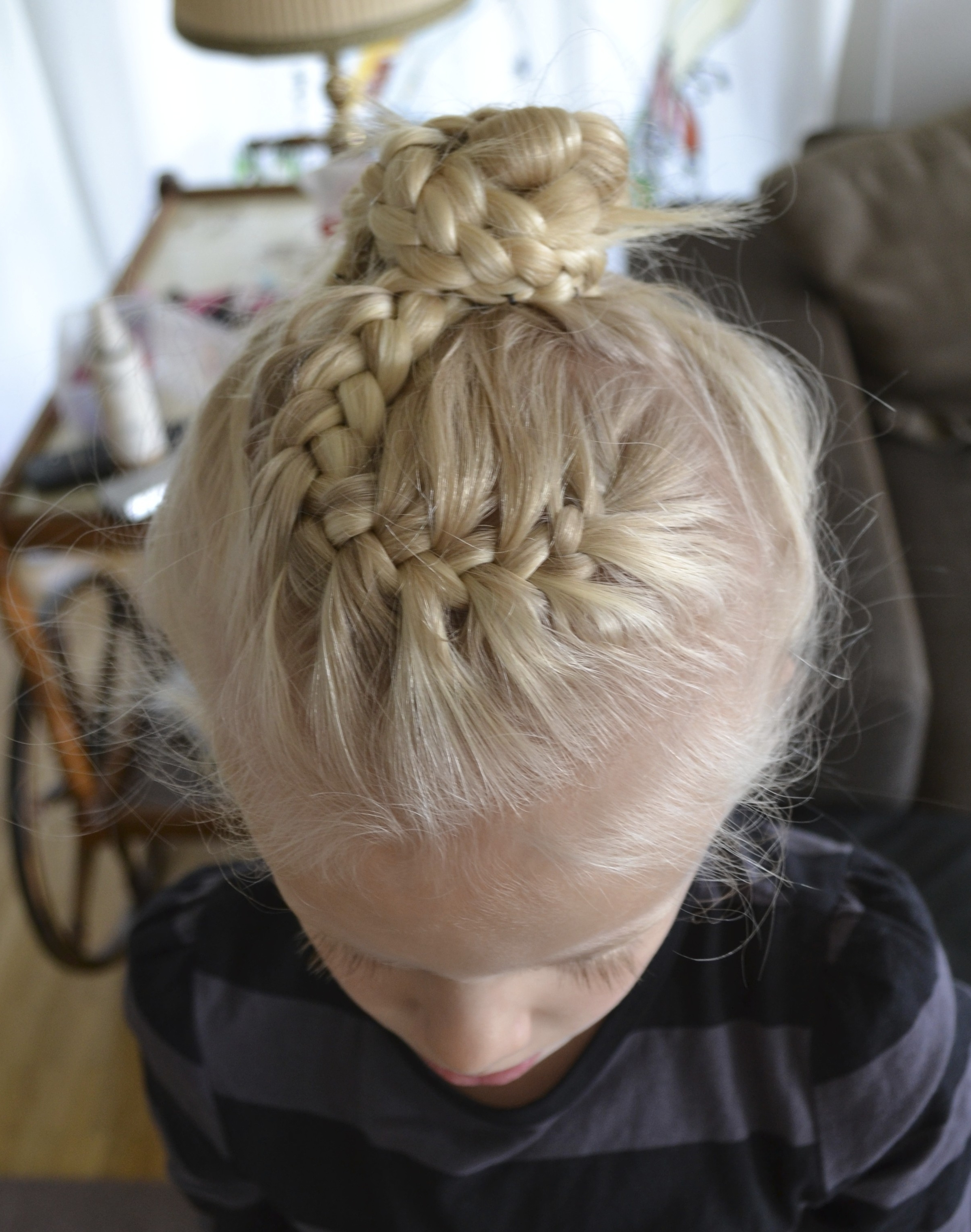 French Braid Bun (View 7 of 15)