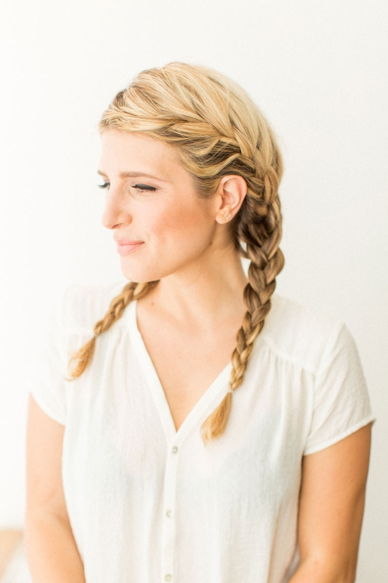 French Braid Pigtails With Well Known Braided Pigtails (View 4 of 15)