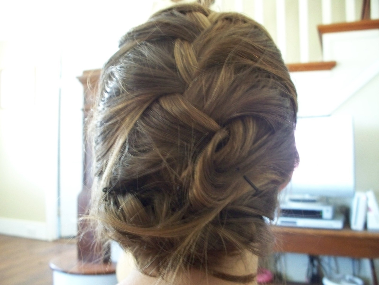 French Braid Up Do · How To Style A French Braid · Hair Styling On With Widely Used Pinned Up French Plaits Hairstyles (View 8 of 15)