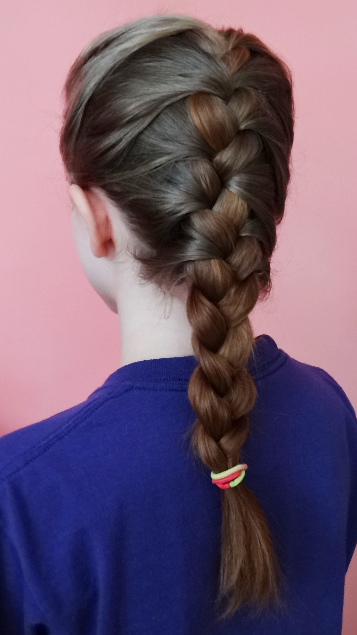 French Braid – Wikiwand In Famous Two French Braids And Side Fishtail (View 5 of 15)