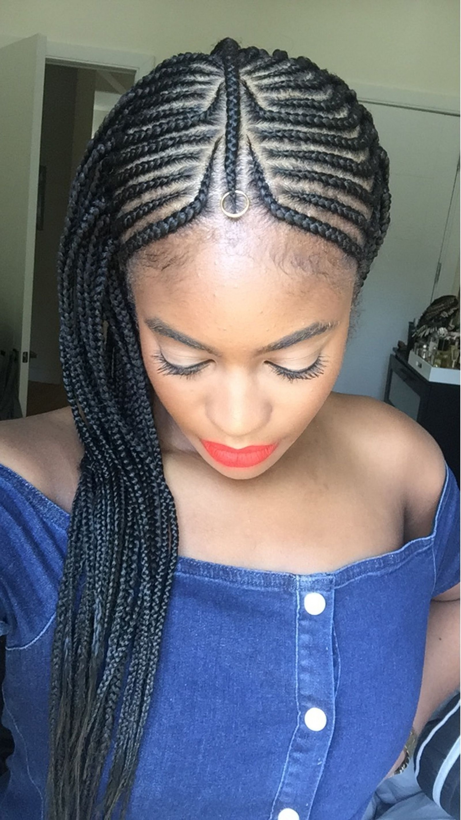 Fresh Elegant French Braid Hairstyles For Black Hair – Orlandowhite For Most Recent French Braid Hairstyles For Black Hair (View 9 of 15)