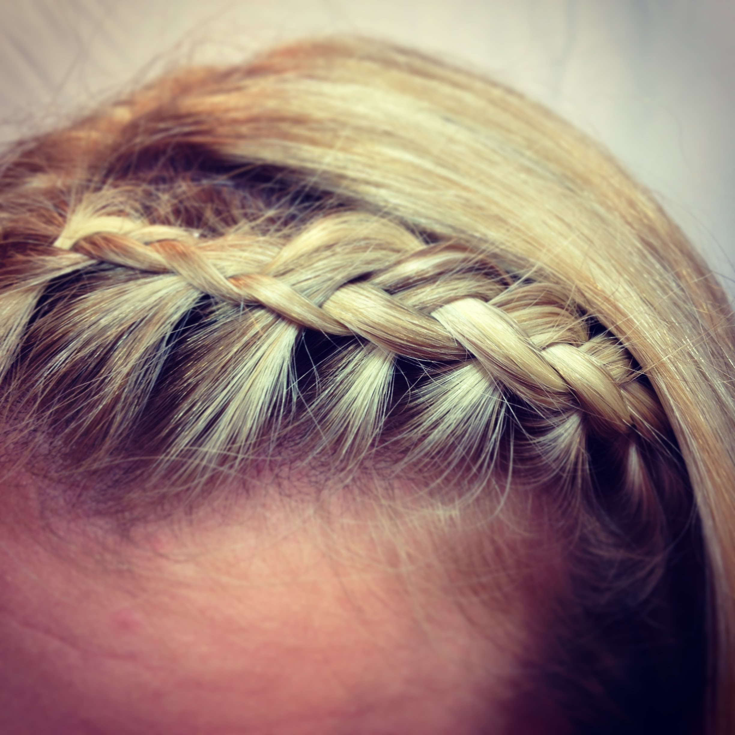 Fringe (Bangs) Braid – Youtube Intended For Well Known Braid And Side Bang Hairstyles (View 6 of 15)