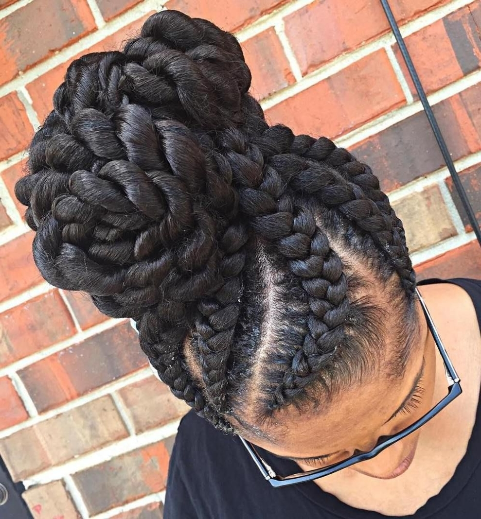 Goddess Braids, African (Gallery 10 of 15)