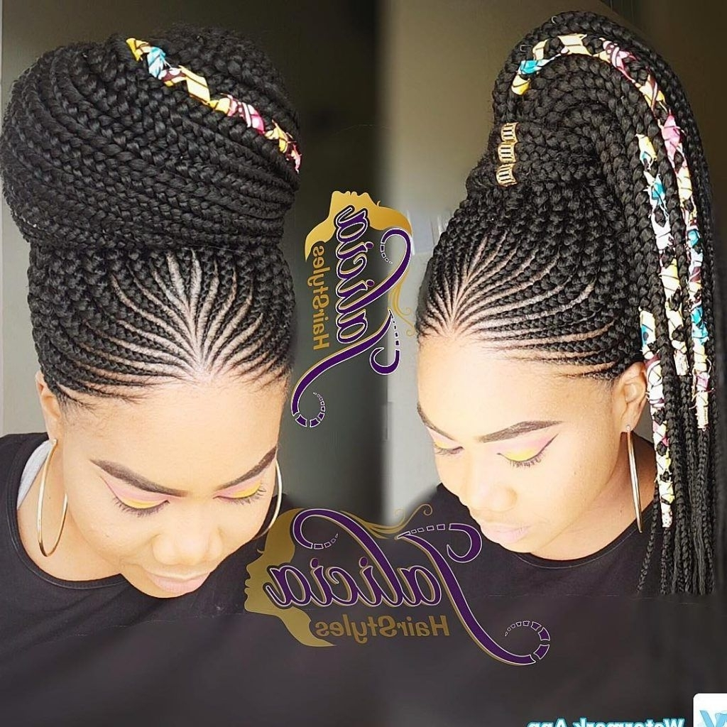 Gone Are The Days When Cornrow Hairstyles Were Rockedolder Women Intended For Best And Newest Dynamic Side Swept Cornrows Hairstyles (View 7 of 15)