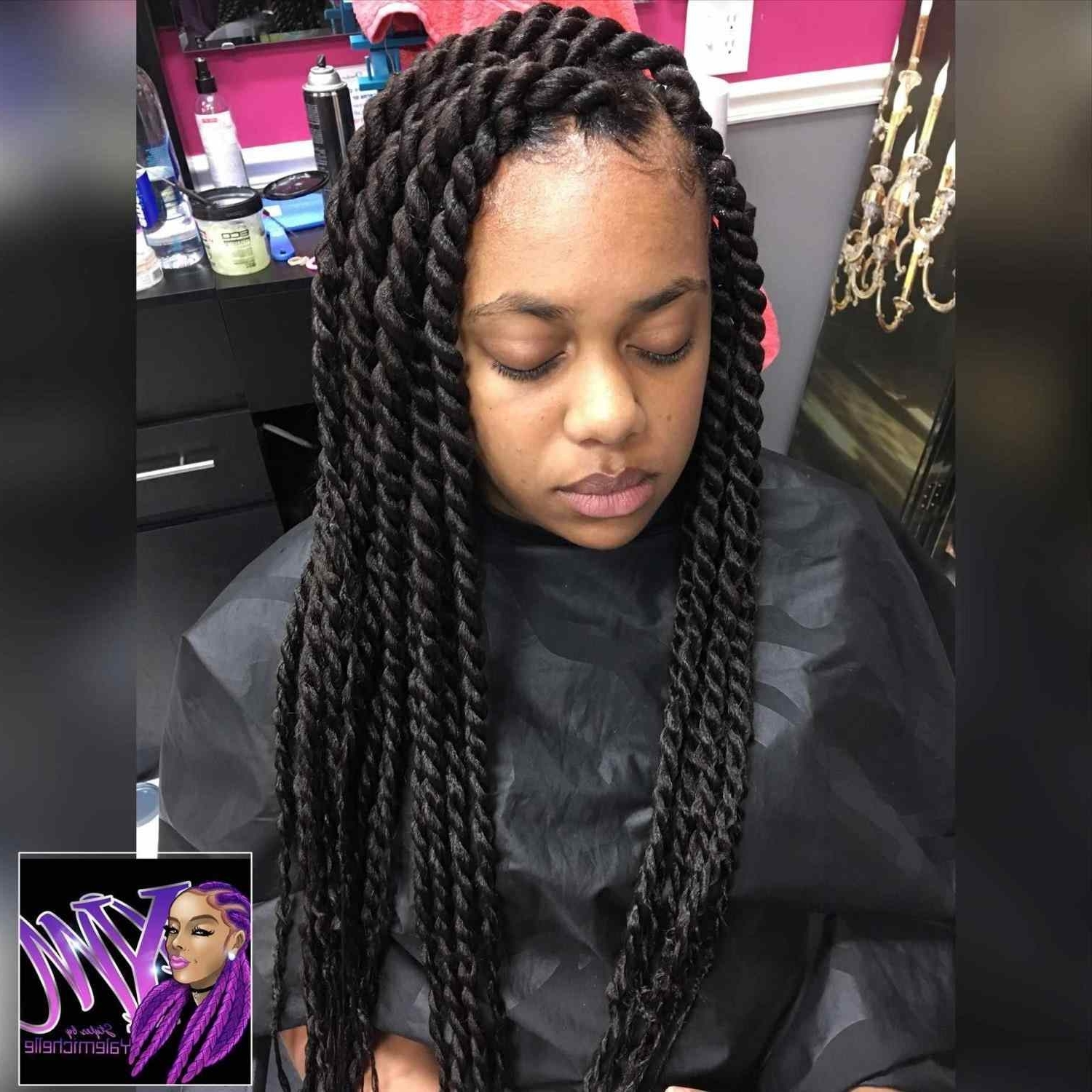 Hair Ideas Styles For Famous Twist From Box Braids Hairstyles (View 6 of 15)