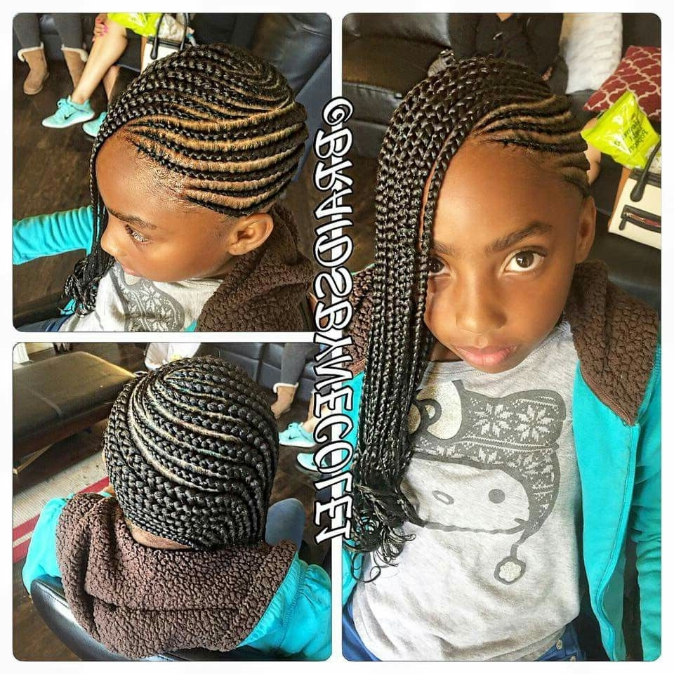 Hair Style, Girl Within Newest African American Side Cornrows Hairstyles (View 6 of 15)