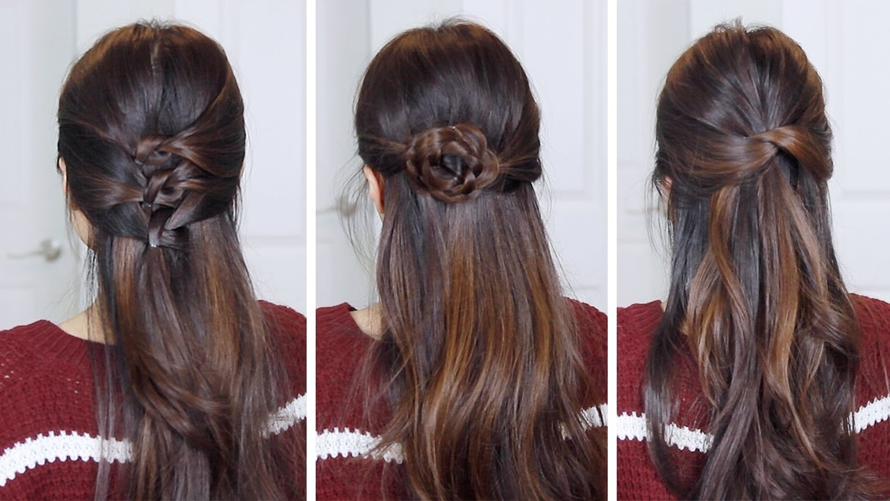 Hair Tutorial – Youtube With Most Popular Regal Braided Up Do Hairstyles (View 9 of 15)
