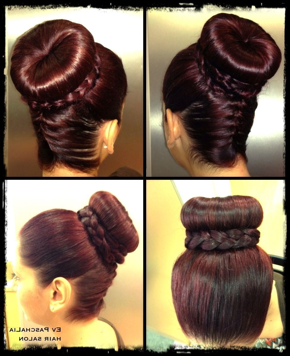 Hair Updos For Brides Intended For Most Up To Date Upside Down French Braid Hairstyles (View 5 of 15)