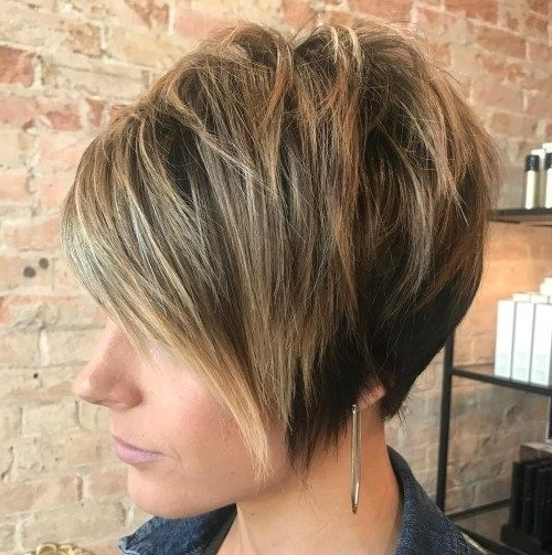 Haircuts In Preferred Tapered Pixie With Maximum Volume (View 3 of 15)
