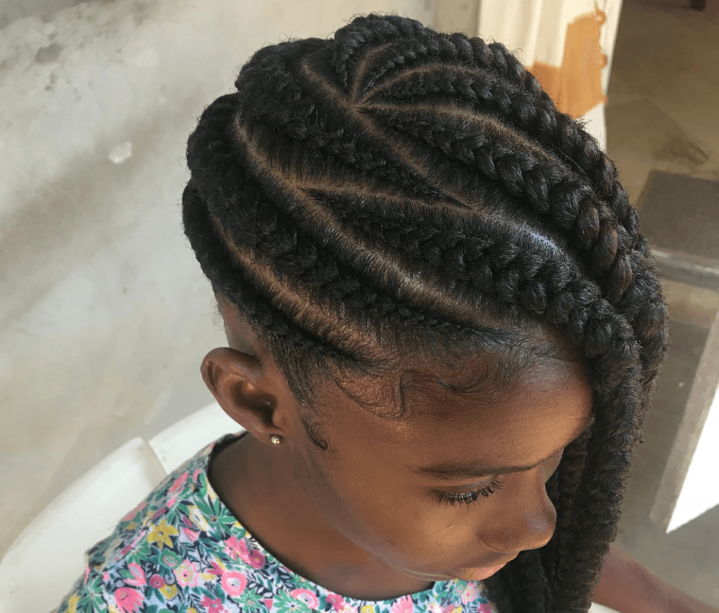 Hairstyle Alert: These Mbele Nyuma Cornrows Are Officially The With Regard To Trendy Kenyan Cornrows Hairstyles (View 7 of 15)