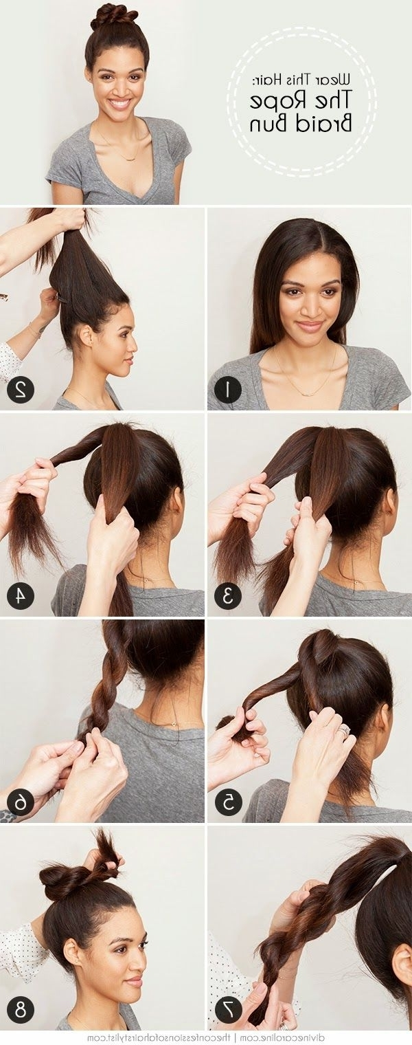 Hairstyle Ideas, Hair Throughout Most Up To Date Swooped Up Playful Ponytail Braids With Cuffs And Beads (View 8 of 15)