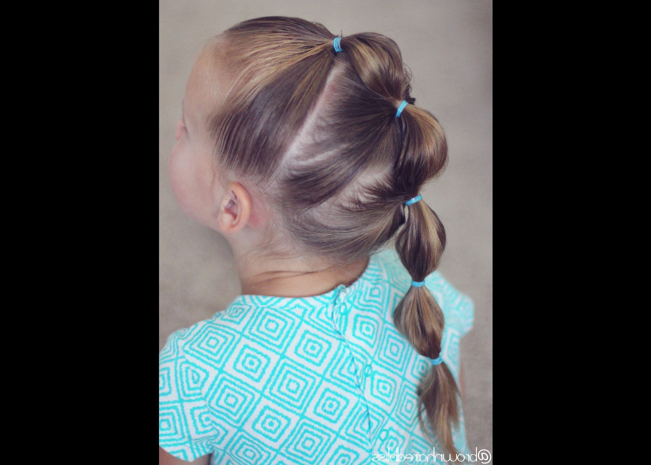 How To: Bubble Braid Mohawk Tutorial (View 7 of 15)