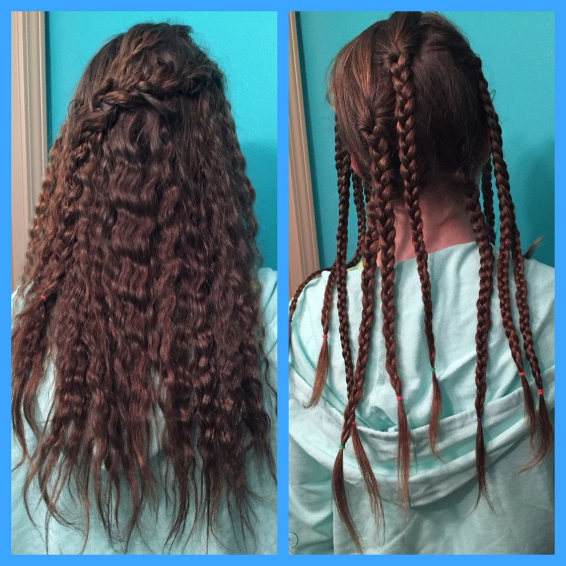 How To Crimp Your Hair Without A Crimping Iron: Put All Of Your Hair With Regard To Most Recent Crimped Crown Braids (View 10 of 15)