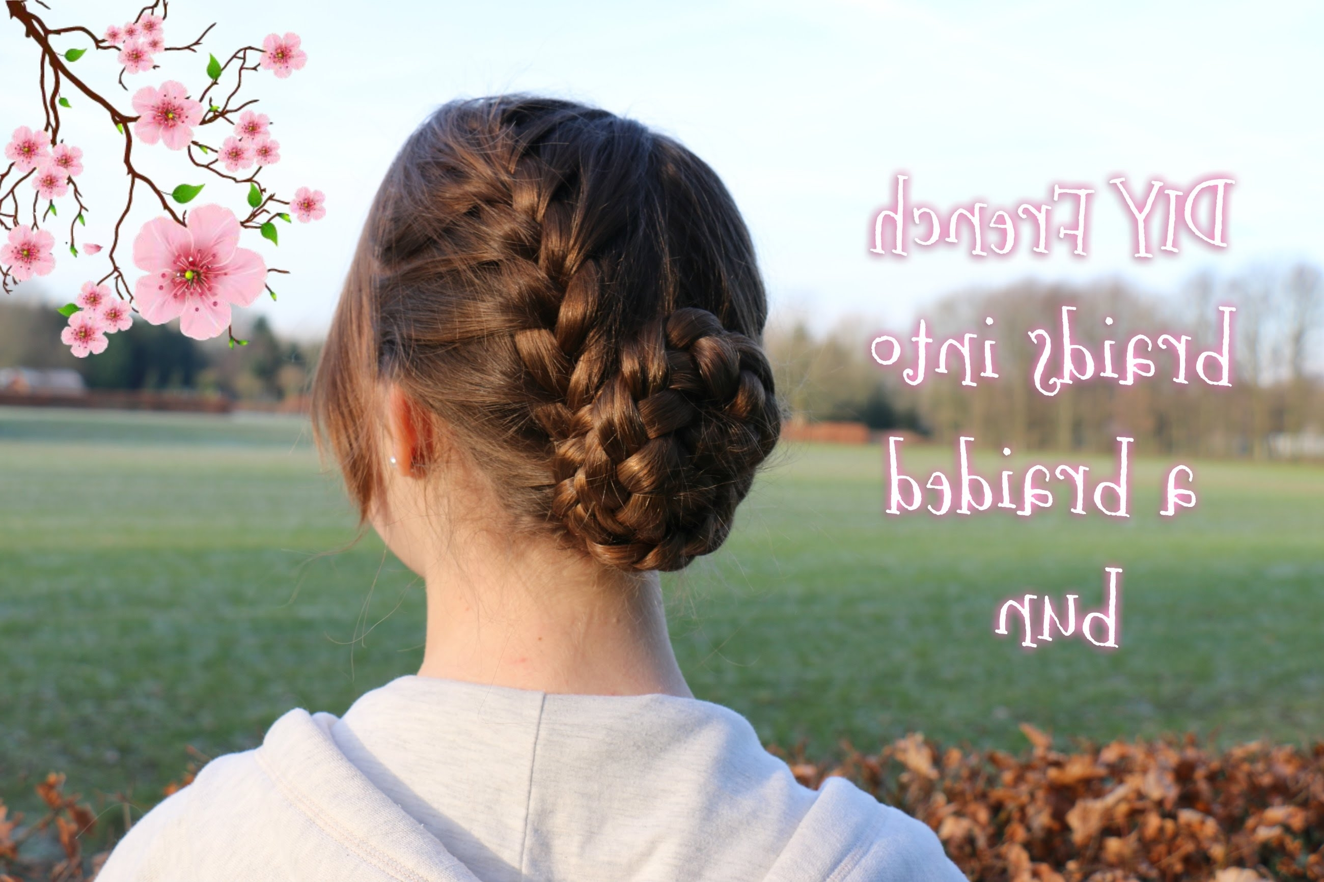 Featured Photo of French Braids Into Bun